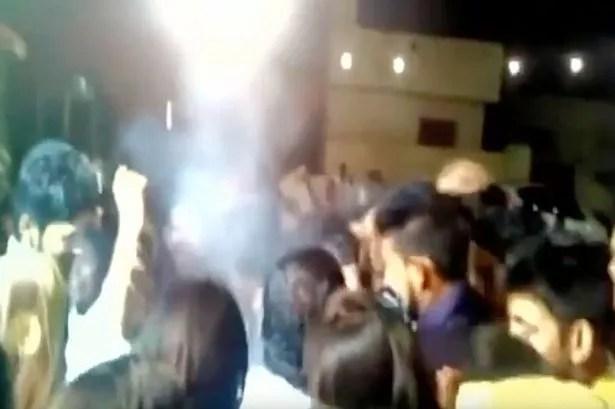 A groom was accidentally 'shot in head' during shotgun firing celebration