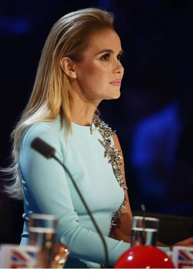 Amanda Holden on Britain's Got Talent