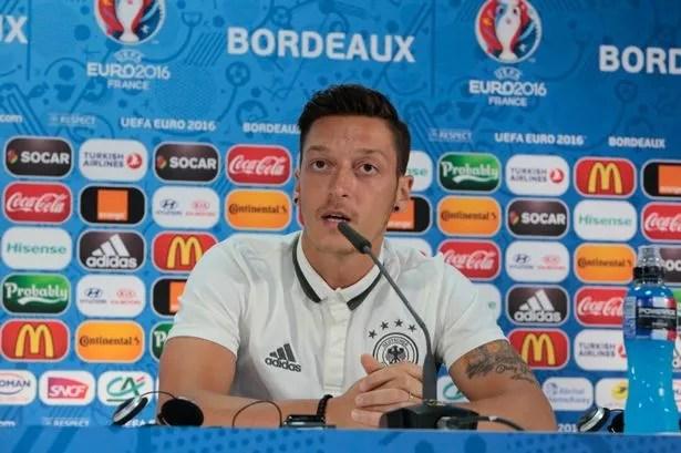 Image result for Ozil in press conference