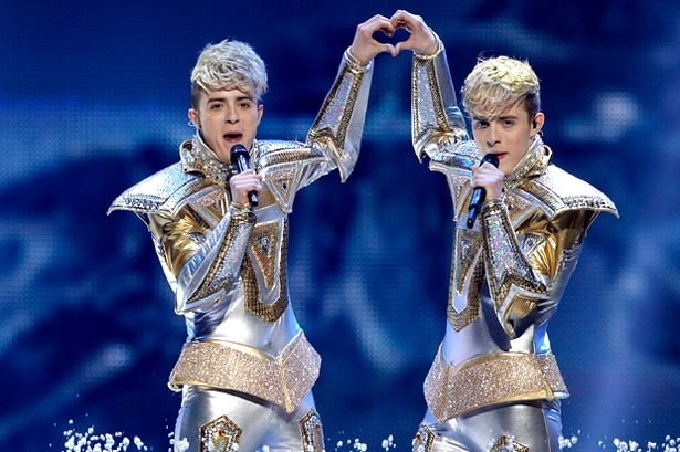 Image result for jedward eurovision 2013