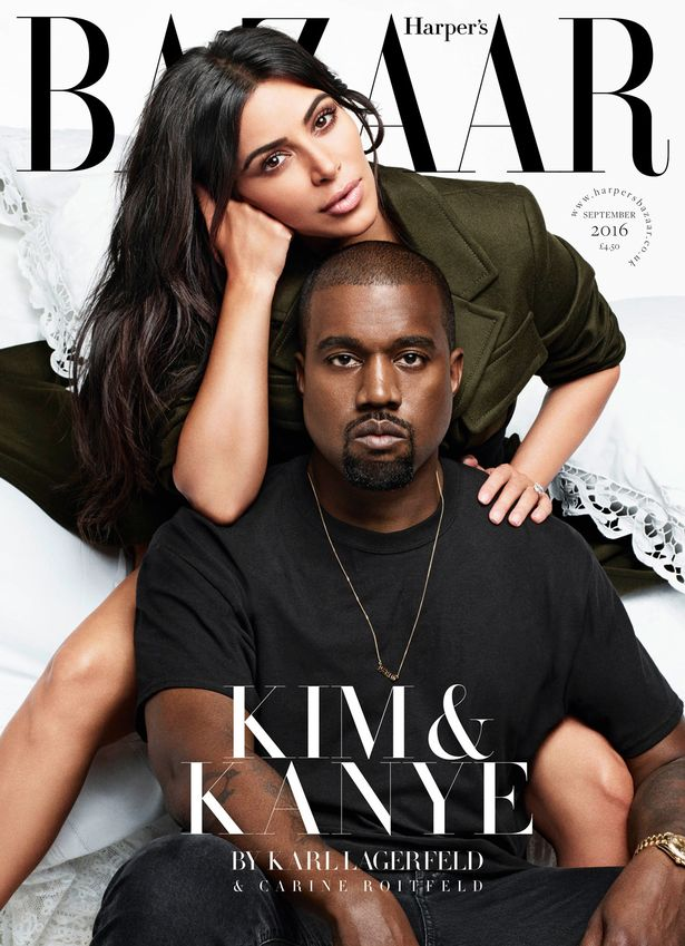Image result for kim on bazaar magazine