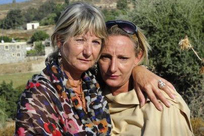 Kerry Needham and her mother Christine