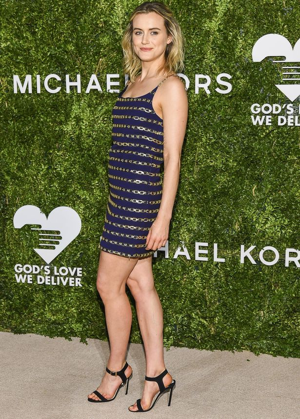 Actress Taylor Schilling attends the 2016 God's Love We Deliver Golden Heart Awards Dinner
