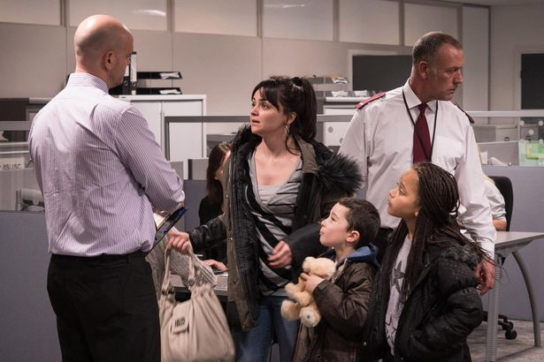 Stills from the new Ken Loch Palmes D'Or winning film I, Daniel Blake