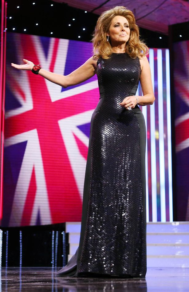 Carol Vorderman at the Pride of Britain Awards 2012