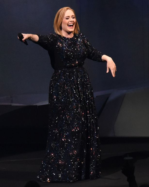 Adele performs in Atlanta