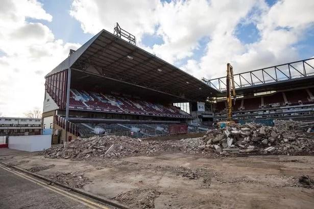 Boleyn Ground being demolished