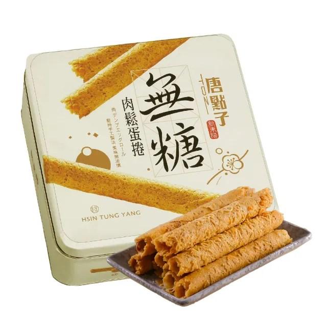 【新東陽-禮盒】無糖肉鬆蛋捲禮盒