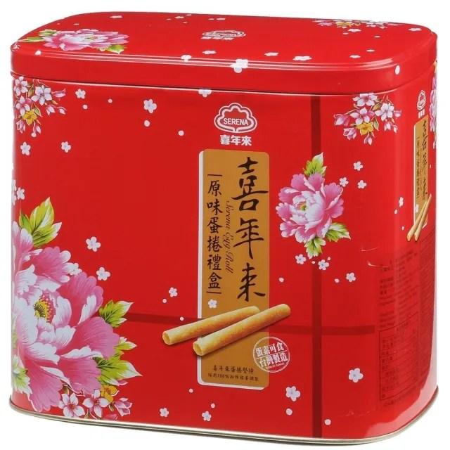 【喜年來】原味蛋捲禮盒(512g)