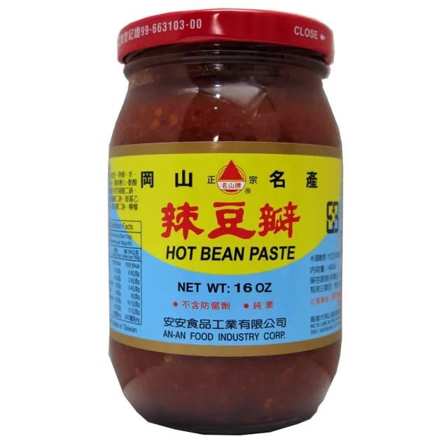 【安安】辣豆瓣-大450g
