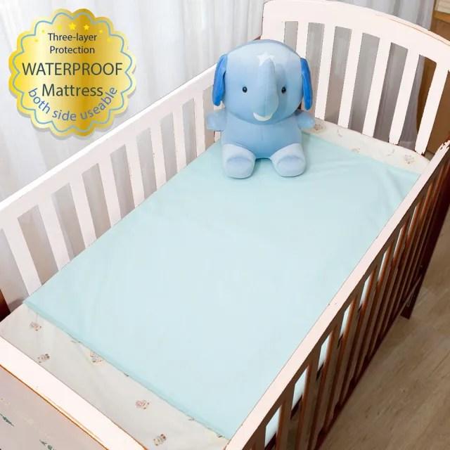【Newstar】MIT防水透氣保潔墊 嬰兒床尺寸(保潔 防水 透氣 防濕 台灣製造 嬰兒床 車用 嬰兒)