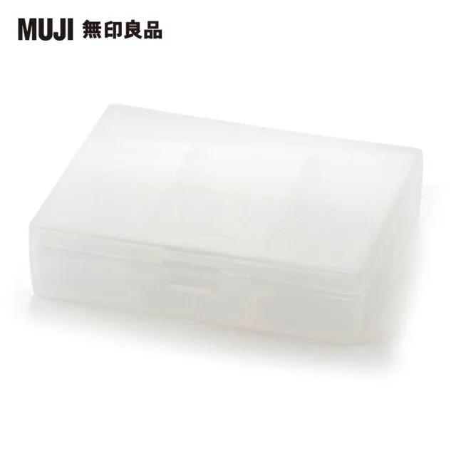 【MUJI 無印良品】聚丙烯藥盒/S/約85x66x20mm