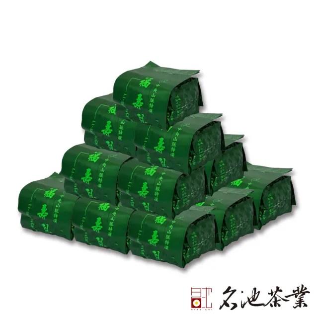 【名池茶業】福壽梨山品級花果香手採高冷烏龍茶葉(75gx16)