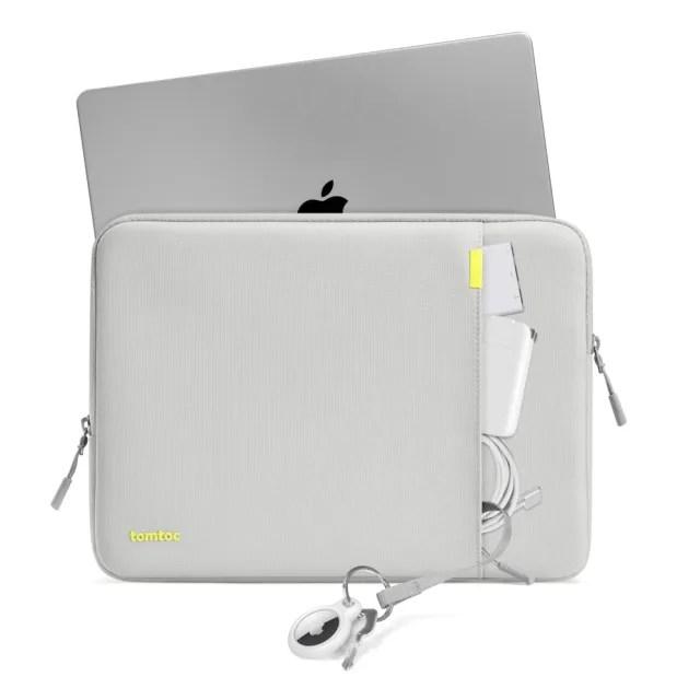 【tomtoc】360°完全防護筆電包內袋 灰 適用於13吋 USB-C Apple MacBook Pro 2016到2019(MacBook Pro/Air)