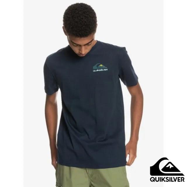 【Quiksilver】男款 男裝 針織T恤 REFLECT SS TEE(海軍藍)
