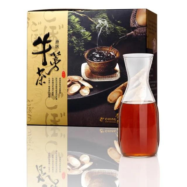 【青玉牛蒡茶】原味牛蒡茶包(6gX16入/盒)