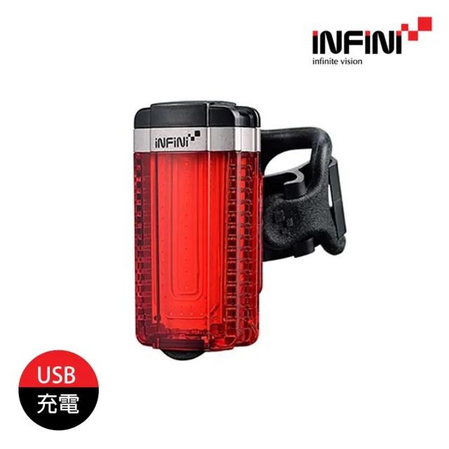 【INFINI】IU 自行車尾燈 I-280R 20(單車燈、LED自行車燈、警示燈、腳踏車燈)