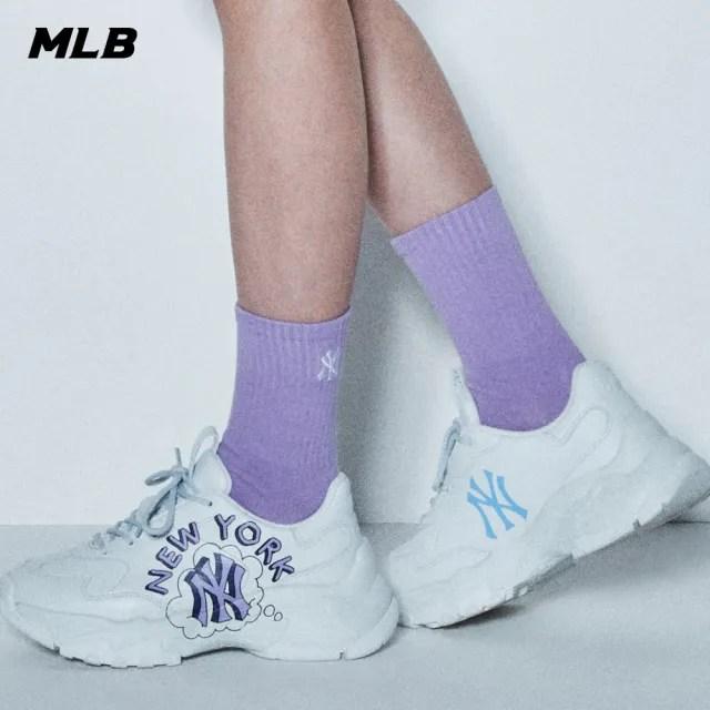 【MLB】LIKE塗鴉系列老爹鞋 紐約洋基隊 Big Ball Chunky(32SHCL111-50S)