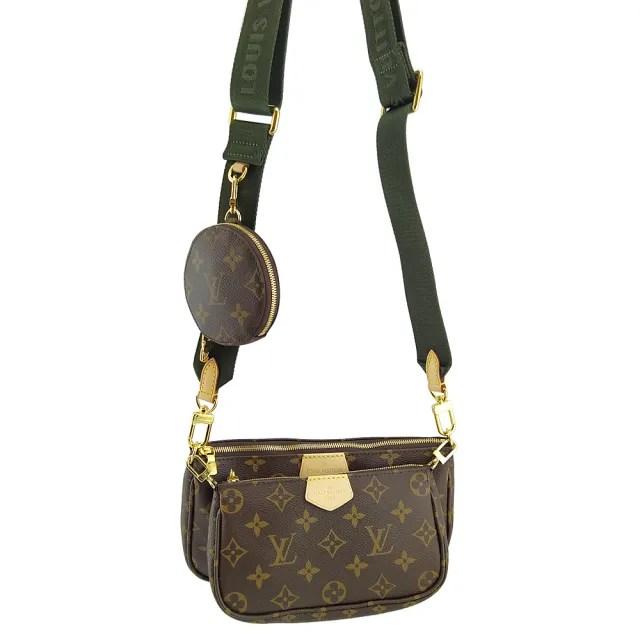 【Louis Vuitton 路易威登】Monogram帆布三合一多功能肩背斜背包(專)