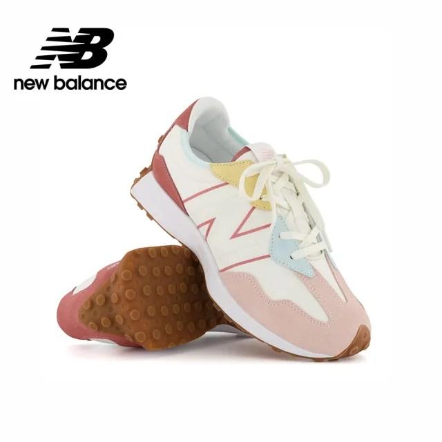 【NEW BALANCE】NB 童鞋_男鞋/女鞋_粉色_GS327HG1-W楦(寬楦)