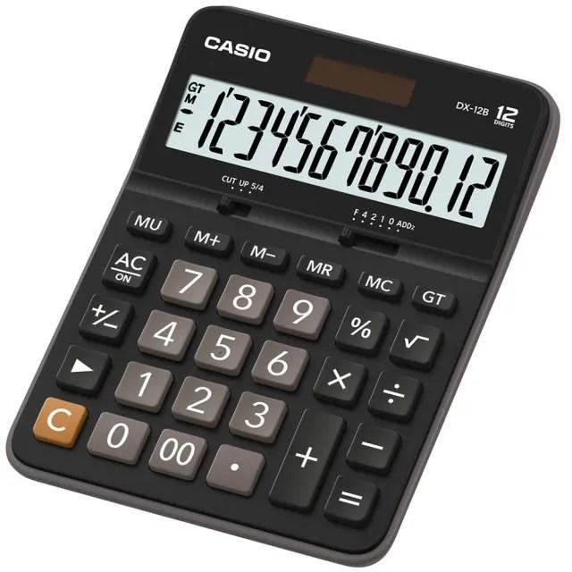 【CASIO】12 位元桌上型計算機(DX-12B)