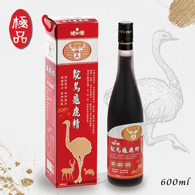 【健知樂】鴕鳥龜鹿精(600ml/瓶)