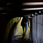 An Underground Artery Crossing to Gaza