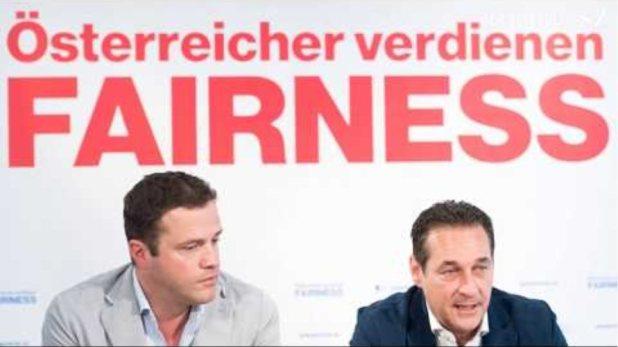 Falle: Korrupte FPÖ Politiker Heinz-Christian Strache und Johann Gudenus in die Falle gelockt