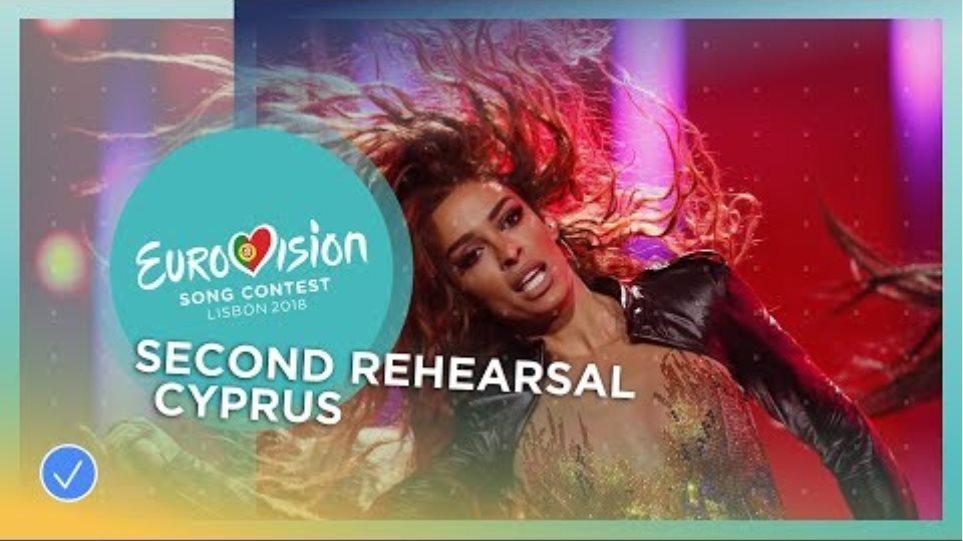 Eleni Foureira - Fuego - Exclusive Rehearsal Clip - Cyprus - Eurovision 2018