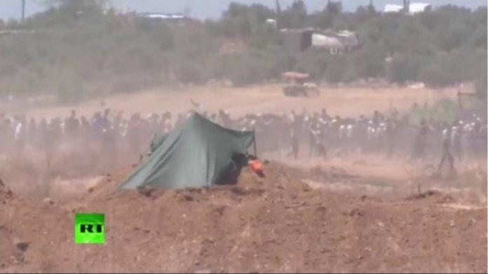 Protestas y enfrentamientos en Gaza antes de la apertura de la Embajada de EE.UU. en Jerusalén