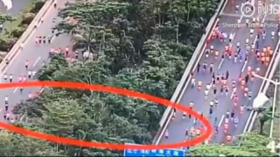 Shenzhen half marathon descends into chaos after runners cheat