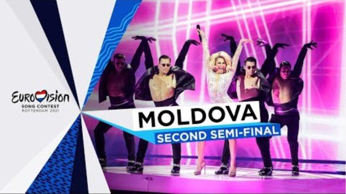 Natalia Gordienko - SUGAR - LIVE - Moldova 🇲🇩 - Second Semi-Final - Eurovision 2021