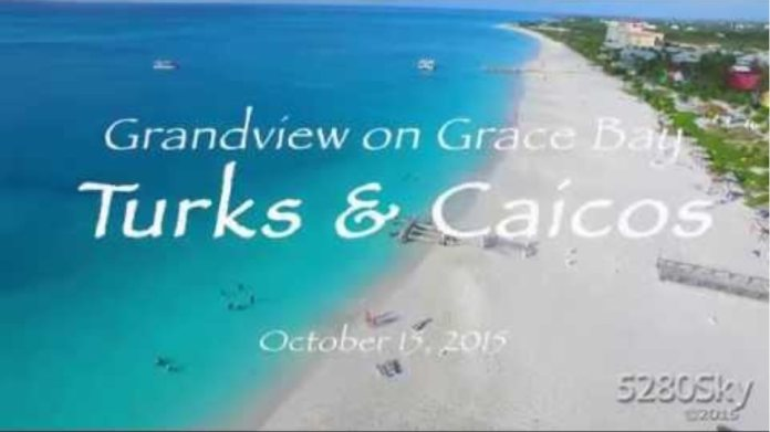 Turks and Caicos Grace Bay Arial Views - 1080HD