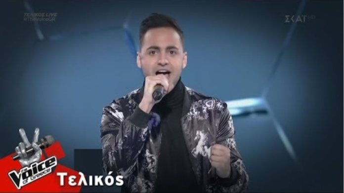 Louis Παναγιώτου - Wrecking Ball | Τελικός | The Voice of Greece