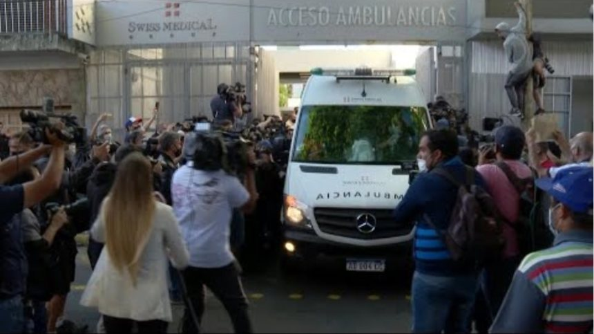 Maradona leaves hospital following surgery | AFP