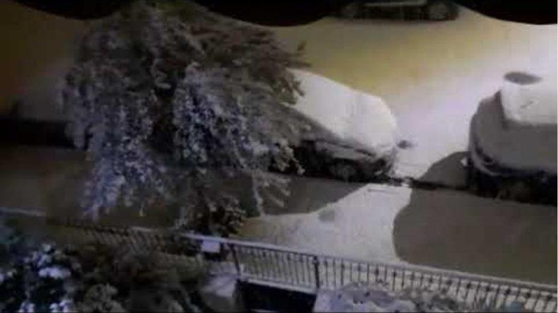 Χιόνια Αιγάλεω και δυτικά προάστια 2