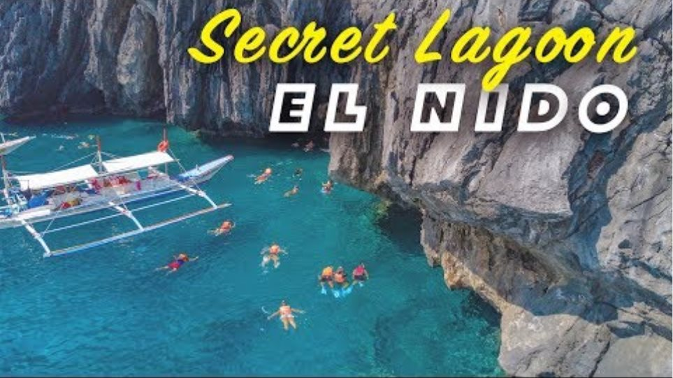 The Secret Lagoon Beach - El Nido, Palawan