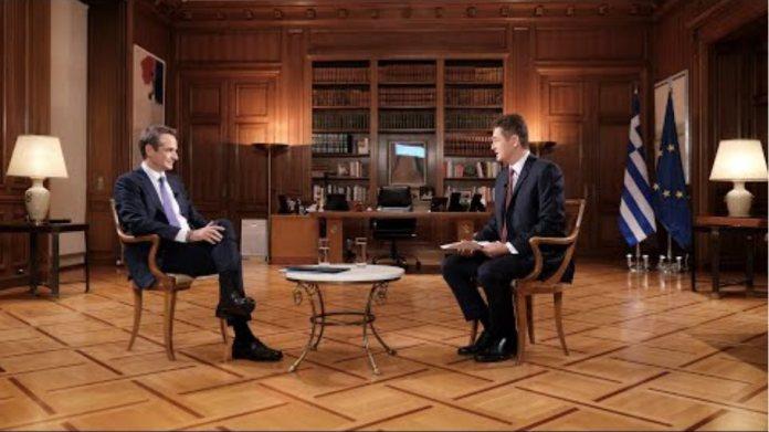 Συνέντευξη Κυριάκου Μητσοτάκη στον τηλεοπτικό σταθμό Alpha και τον δημοσιογράφο Aντώνη Σρόιτερ