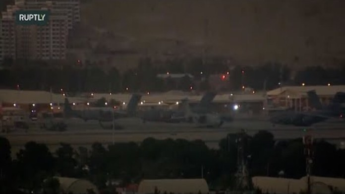 LIVE from Kabul after explosion outside airport