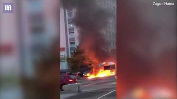 Multiple cars torched in Gothenburg shopping centre carpark