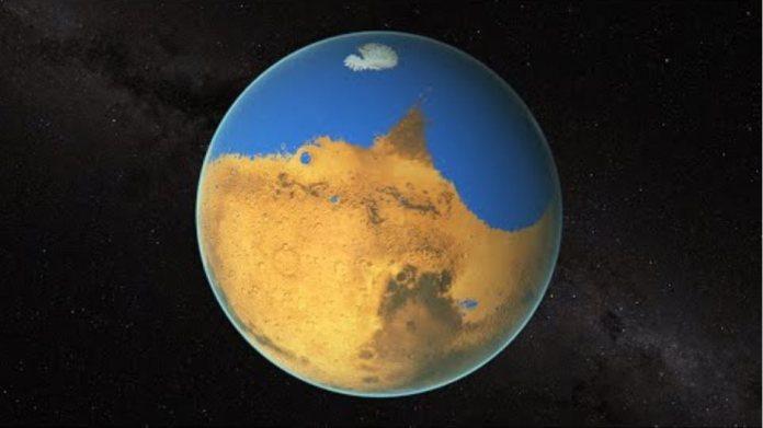 NASA   Measuring Mars' Ancient Ocean