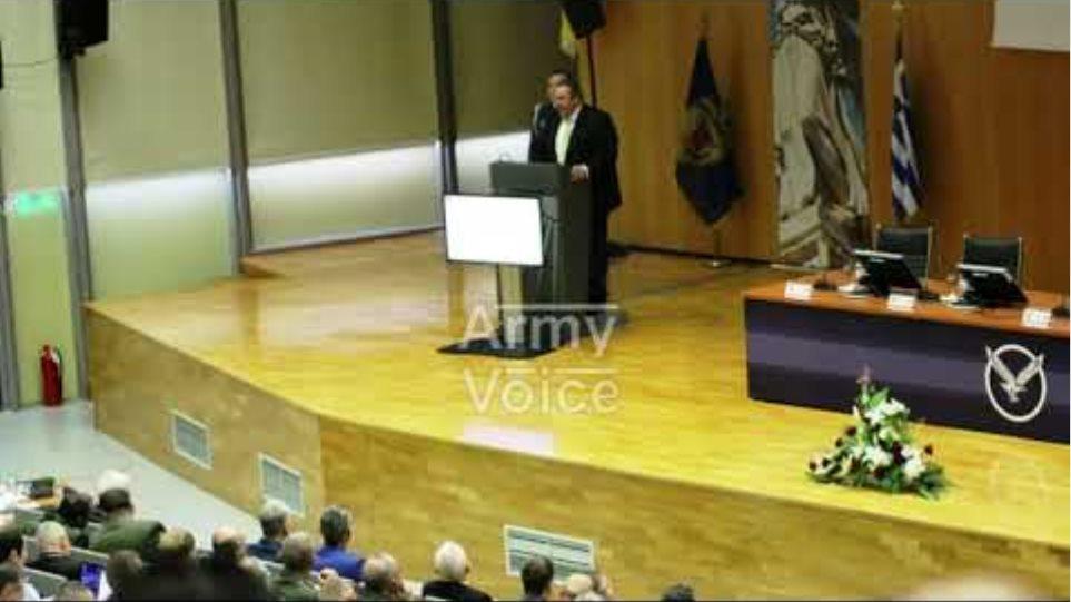 Armyvoice.gr: Ομιλία ΥΕΘΑ στο Διεθνές Συνέδριο ΑΘΗΝΑ (απόσπασμα)