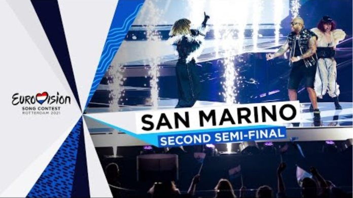 Senhit - Adrenalina - LIVE - San Marino 🇸🇲 - Second Semi-Final - Eurovision 2021