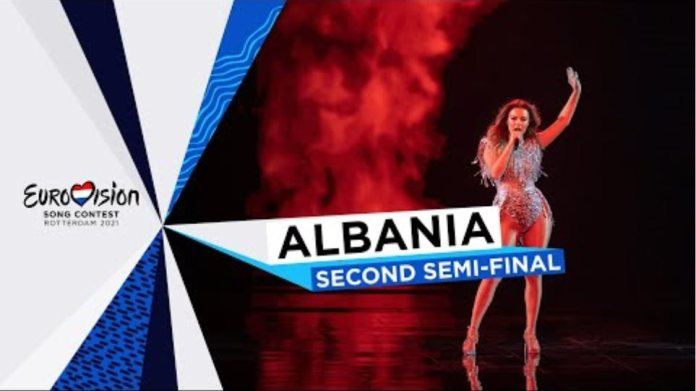 Anxhela Peristeri - Karma - LIVE - Albania 🇦🇱 - Second Semi-Final - Eurovision 2021