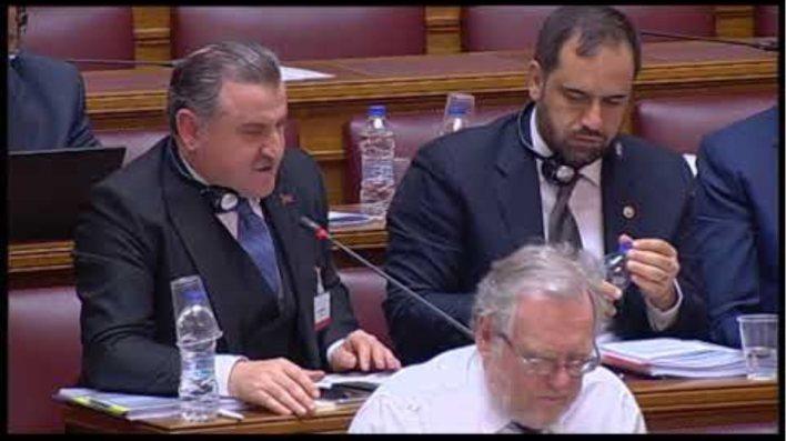 Τούρκος βουλευτής προκαλεί μέσα στη Βουλή