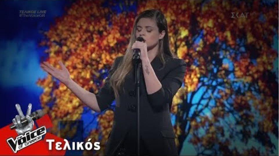Μαρίνα Τζιάνγουιρθ - Άνθρωποι μονάχοι | Τελικός | The Voice of Greece