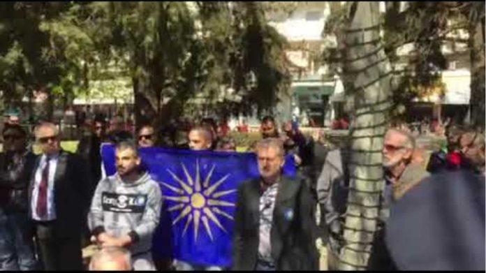 Με αποδοκιμασίες και εντάσεις η κατάθεση στεφάνων στις Σέρρες(video)