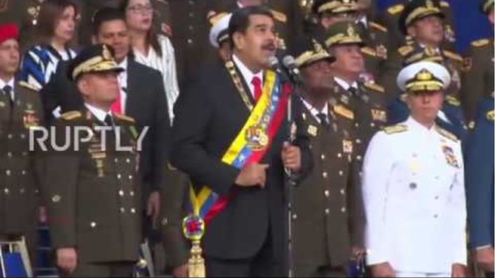 Venezuela: Nicolas Maduro survives 'assassination attempt'