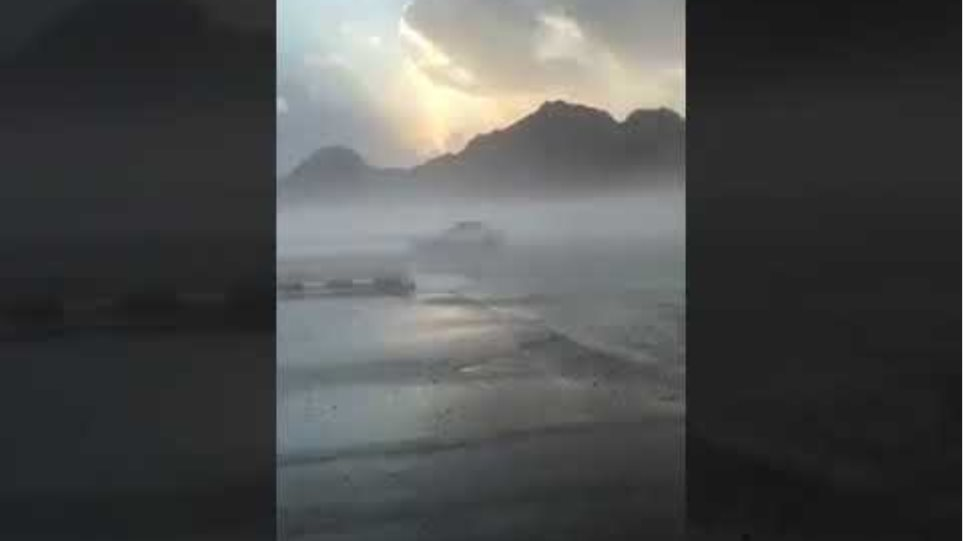 Catastrophic floods in the desert of Saudi Arabia 11/19/18