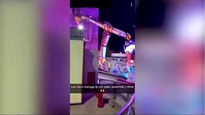A woman died and another was seriously hurt on funfair ride in France